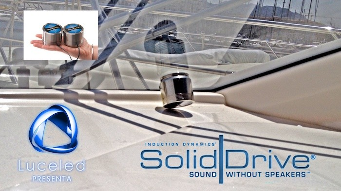 Illuminazione audio e videosorveglianza in uno yacht wammocms